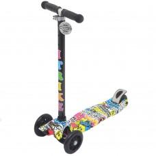 Самокат со светящимися колесами 21st Scooter Maxi Print